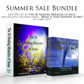 Sale Bundle: The 26 Healing Miracles of Jesus + What if That Happens to Me?