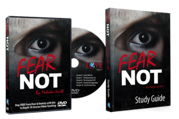 FEAR NOT DVD + Study Guide